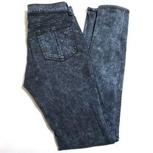 Rag & Bone Rosebowl Leggings | Navy Skinny Jeans